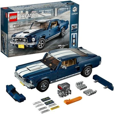 樂高 LEGO 積木 CREATOR 福特 野馬 Ford Mustang 10265