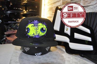 New Era Branded Halloween Glowing Eyes 9Fifty 萬聖節系列發亮的眼球後扣帽