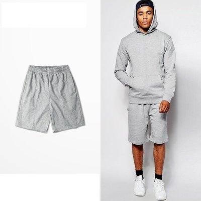 基本款 短棉褲     S-3XL  大尺碼  黑色 淺灰