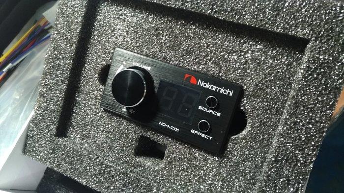 [樂克影音] 日本中道 Nakamichi ND-AC01  NDS480音效處理器專用  增益控制器