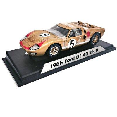 仿真車模型原廠1:18仿真1966福特Ford GT40合金汽車模型Shelby勒芒賽車收藏
