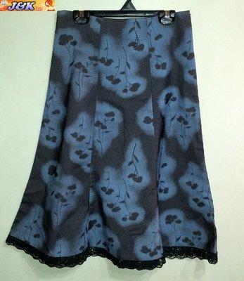 【J&K嚴選】專櫃名牌secret sistar女款 長裙 修身 彈性-顏色:藍黑-28腰【特價】LV來自星星的你