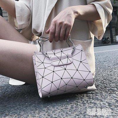 子母包 小包包女2019新款韓版時尚女包斜跨小方包單肩手提時尚菱格 GW1185