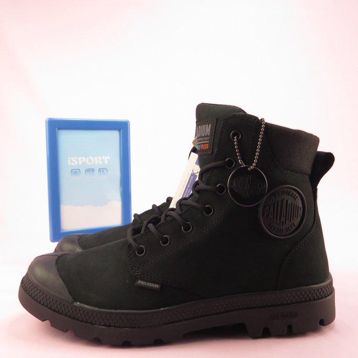 【iSport愛運動】Palladium PAMPA CUFF LITE+ WP 中靴 76118008 男女款 黑