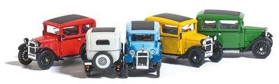 傑仲 (有發票) 博蘭 BUSCH 模型車 BMW Dixi Bauiahr 1929 b 9838899 HO 藍色