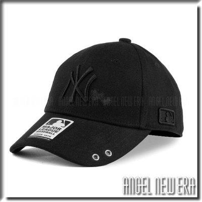 【PD帽饰】【ANGEL NEW ERA 】 MLB Old Fashioned Cap NY 洋基  黑 人字布 老帽 愛心