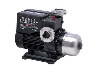 大井泵浦TQ1500B 電子加壓機 ,抽水機,TQ1500加壓馬達,加壓馬達TQ1500加壓泵浦,大井桃園經銷商.