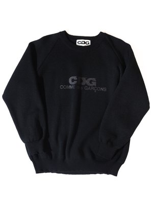 Comme des Garcons Logo Sweater.(Black) 川久保玲 CDG 毛衣