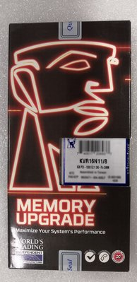~鱻3C~Kingston 金士頓 DDR3 1600 8GB 全新盒裝-筆電用~ 台北市