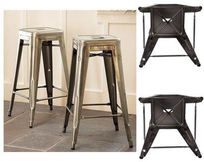 【晴品戶外休閒傢俱館】Tolix Bar Stool鐵吧椅工業風 吧臺椅 高腳椅 休閒椅 餐椅