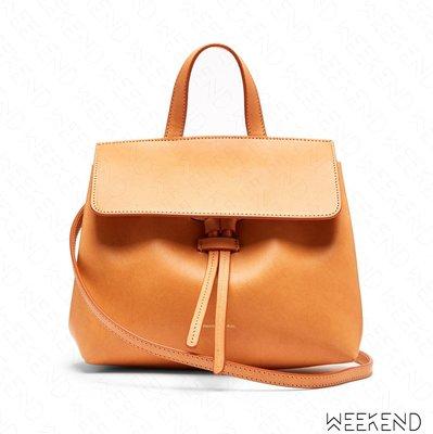 【WEEKEND】 MANSUR GAVRIEL Mini Mini Lady Bag 迷你 手提包 肩背包 駝+粉色