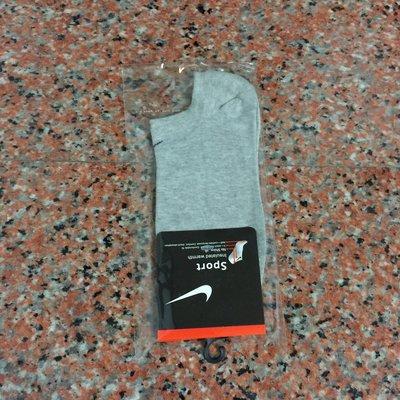 Nike襪  【素面款  春 薄款船襪 】【編號6  淺灰色】【 】