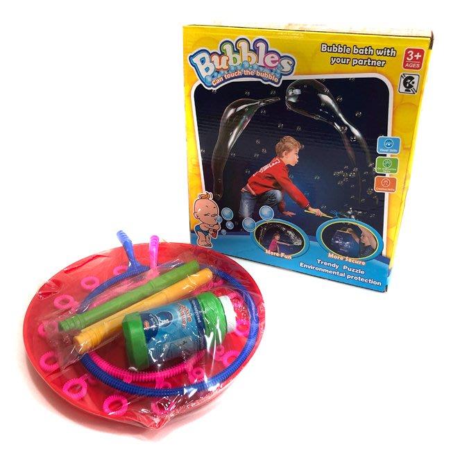 泡泡盤 泡泡圈三件組 吹泡泡 大泡泡棒 滿天星棒 泡泡劍 泡泡槍 泡泡杖 泡泡水【B44000301】塔克玩具