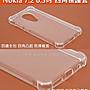 GooMea 4免運 Nokia 7.2 6.3吋四角凸起 四邊...
