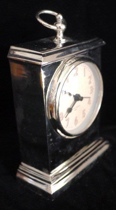 美式嘻皮金屬製有重量時鐘座鐘 [布拉格家居]