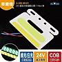 LED貨車車燈【X- 282- 05- 01】24V- 綠色COB車邊...