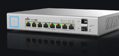 台灣公司貨 UBNT UniFi Switch US-8-150W 802.3af/at 管理型POE交換器-含稅含運