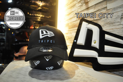 New Era Taiwan Limited Taipei City 9Forty 台北限定限量940 鴨舌帽