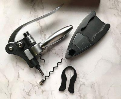 現貨 deluxe lever-action corkscrew 紅酒開瓶器 ➕雙入紅酒袋 組合