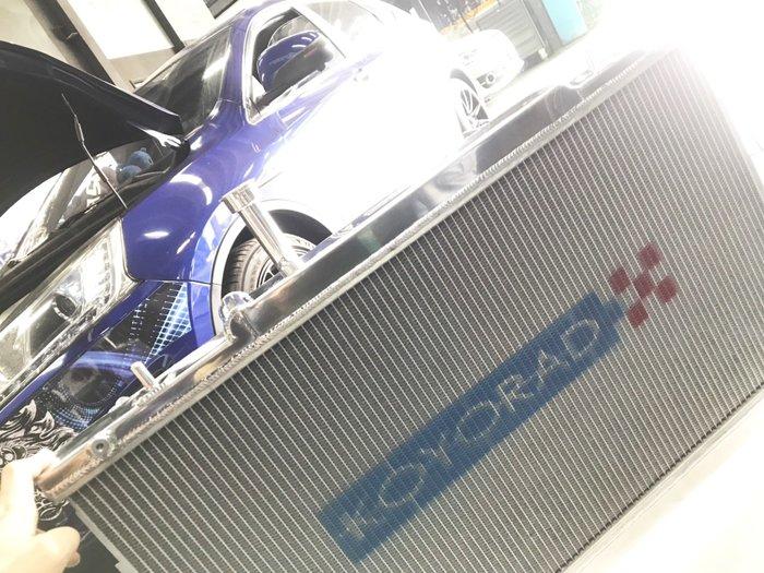 JK RACING 日本 KOYORAD 納智捷U6專用 加大鋁製水箱  加大水箱 KH863435