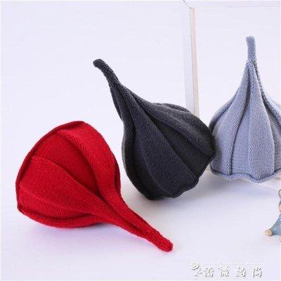 韓版女童春秋冬帽子男童西瓜帽寶寶毛線保暖嬰兒兒童尖尖帽潮親子 全館免運 拍賣最低價