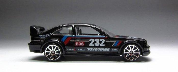 (I LOVE樂多)hot wheels bmw e36 m3 race 風火輪 1:64