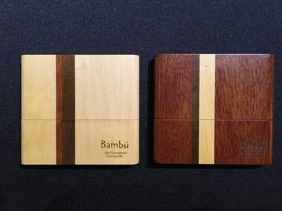 §唐川音樂§【Bambu 竹片原木保存盒 中音 10片裝】(阿根廷)
