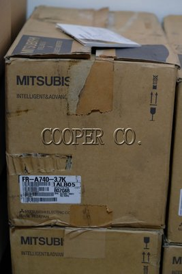 Mitsubishi 三菱 FR-A740-3.7K 變頻器 Inverter 全新品中古良品停產品特規品現貨銷售維修