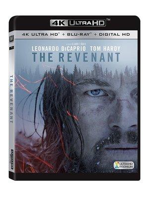 毛毛小舖--藍光BD 神鬼獵人 4K UHD+BD雙碟限定版 The Revenant 李奧納多狄卡皮歐