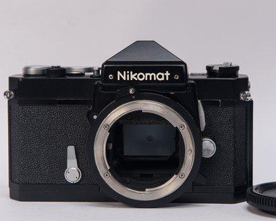NIKON FTn 坦克全機械相機 黑機