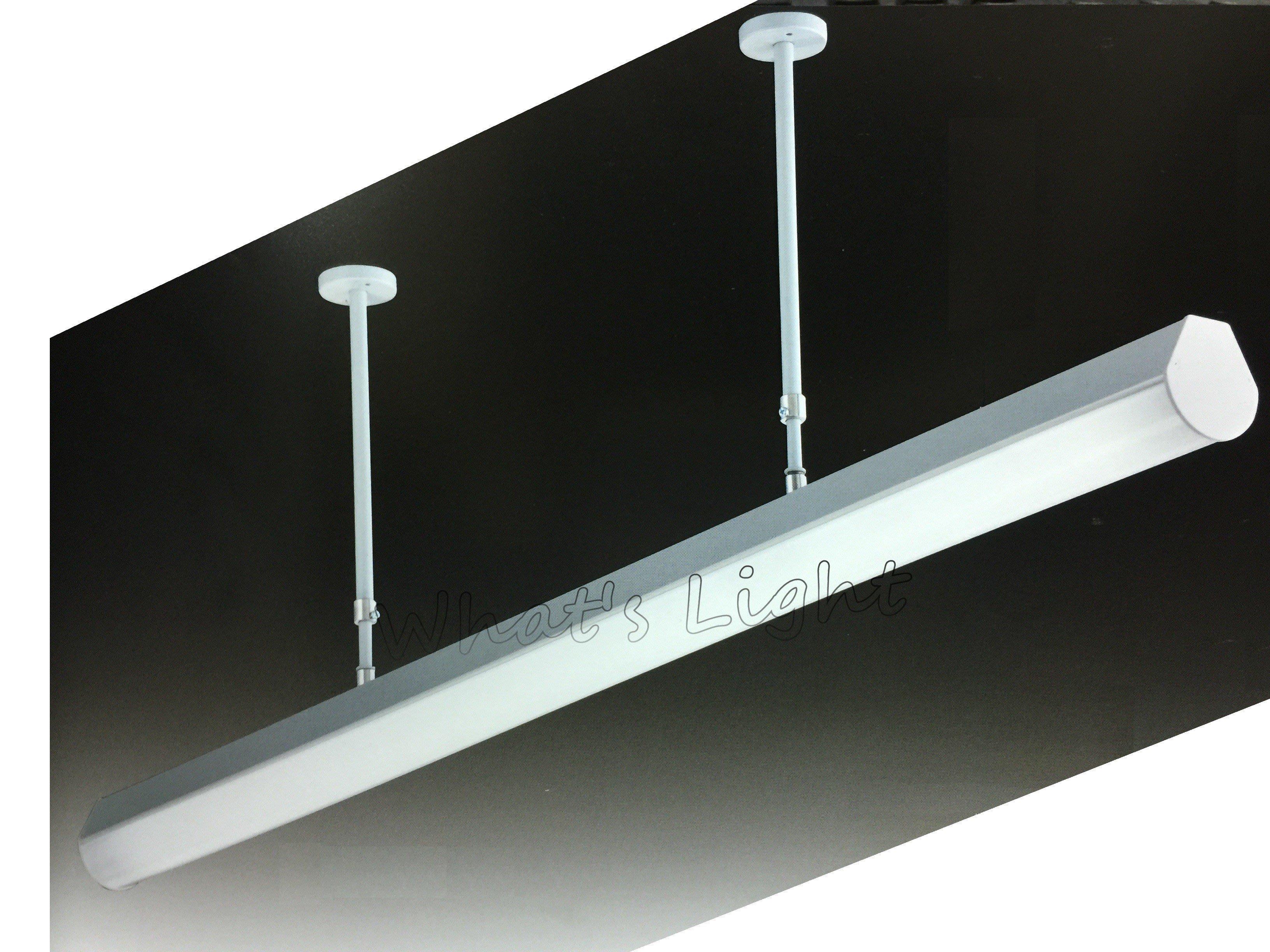 划得來燈飾~現代時尚高質感 T5 28W*1 高功率 懸吊可伸縮 柔光吸頂日光燈 OA辦公室照明 (P60791)