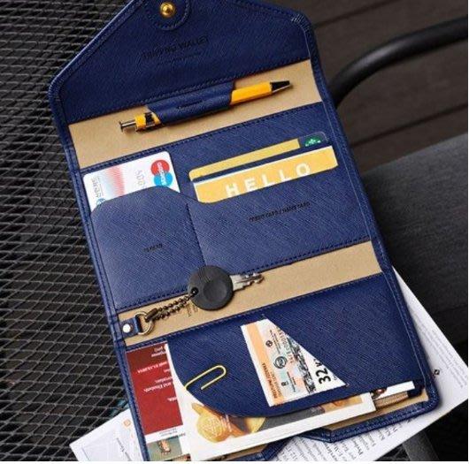 《現貨共8色》韓國多功能三折證件包 護照包 簡約風 卡片包 短夾 長夾 旅行 錢包 名片夾 包中包/旅行/護照