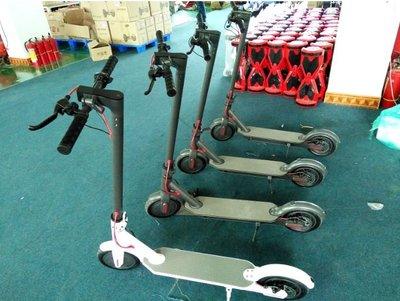 『滑板車』電動滑板車8.5吋app智能平衡車兩色白色黑色摺疊車鋁合金