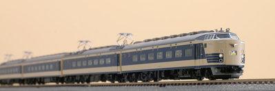 [玩具共和國] TOMIX 98771 国鉄 583系特急電車(クハネ583)基本セット(7両)