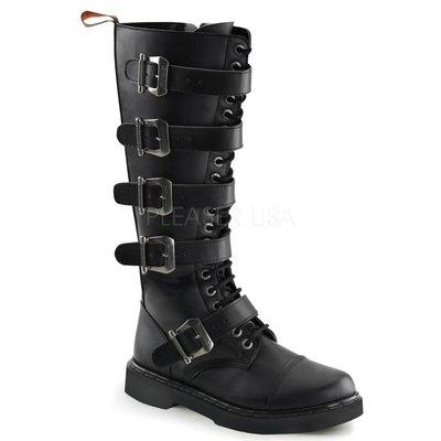 Shoes InStyle《一吋》美國品牌 DEMONIA 原廠正品龐克歌德馬丁靴20孔長馬靴 有大尺碼 『黑色』
