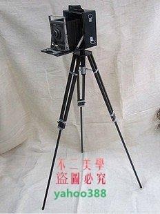 美學216影樓道具1947年復古照相機 模型 鐵皮 攝影拍攝道具 1.2米❖19151