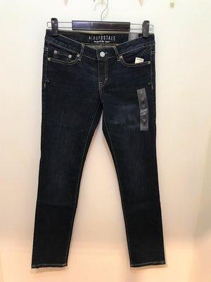 Aeropostale 女 Skinny 牛仔褲 尺寸0 / 2 全新 現貨