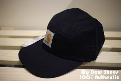 【MyNewShoes】全新Carhartt WIP Backley Cap 深藍 Logo 五分割 帽子 工裝 可調
