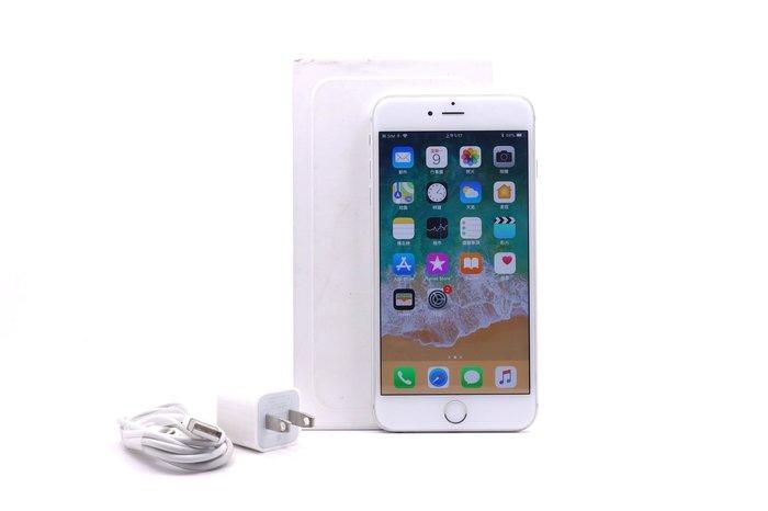 【台中青蘋果】Apple iPhone 6 Plus 銀 64G 64GB 二手 5.5吋 蘋果手機 #22001