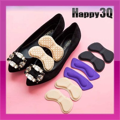 柔軟舒適泡棉鞋碼防磨不起水泡調整後跟貼-蝶形不挑色【AAA0644】預購