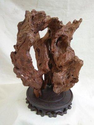 清代伐木 香杉根瘤奇木 清供賞件 (高:24寬:30深:21)不含座