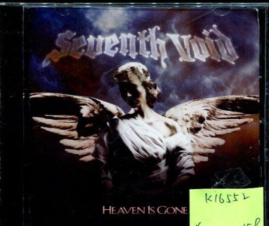*真音樂* SEVENTH VOID / HEAVEN IS GONE 二手 K16552 (封面底破)