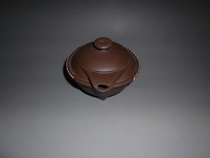 【古韻之家】宜之陶 山水麗景 原礦紫泥 日本定制茶道 內有球孔 喝茶神器 特價
