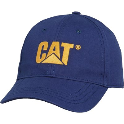 CAT Caterpillar 藍色 棒球帽 卡車帽 Trademark 全新 現貨