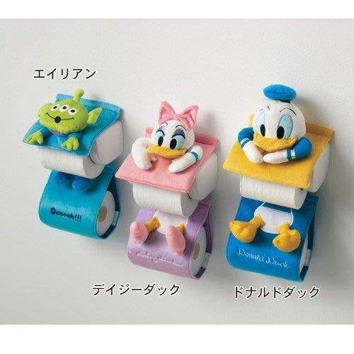 日本 迪士尼 DISNEY 立體 卡通 捲筒衛生紙套 米奇 米妮 三眼怪 LUCI日本代購