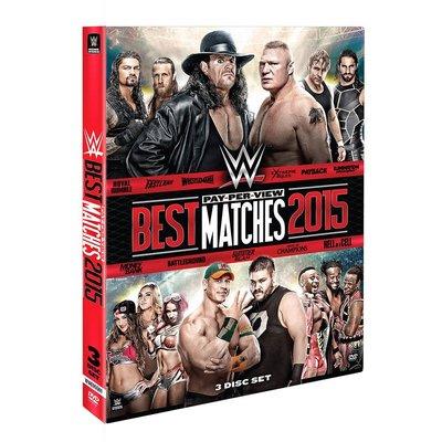 ☆阿Su倉庫☆WWE摔角 Best PPV Matches 2015 DVD 2015年最佳賽事精選專輯 熱賣特價中