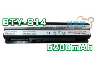 熊專業☆BTY-S14 MSI GE60 GE70 CR650 FR700 FR600 原廠電池 保固 A304 ◎