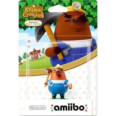 任天堂 AMIIBO NFC SWITCH NS 動物森友會 動物之森 里賽特 地鼠 小礦工 電源叔叔 RESETTI