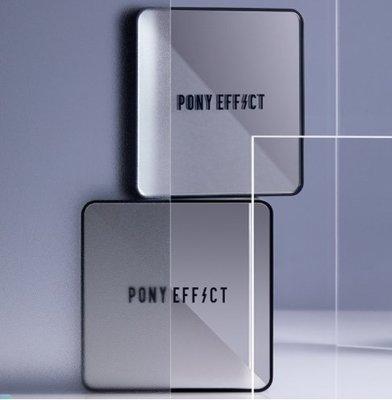 韓國 PONY EFFECT 2021 最強上市 新神防護銀色 正裝+補充蕊 氣墊粉餅 櫃姐一致好評 有史以來最好用