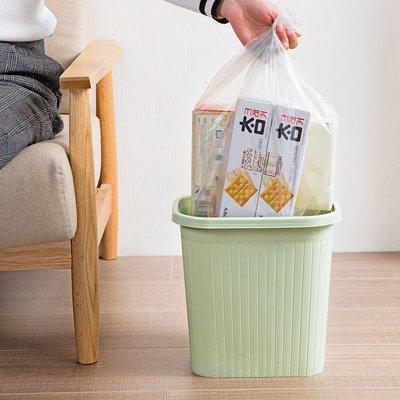 品如衣櫃 軟毛刷 日系清潔劑 居家家大號加厚銀鋼袋分類垃圾袋家用廚房垃圾桶清潔袋日用塑料袋